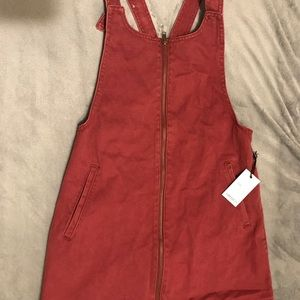 Brand new Forever 21 overall dress color (brick)